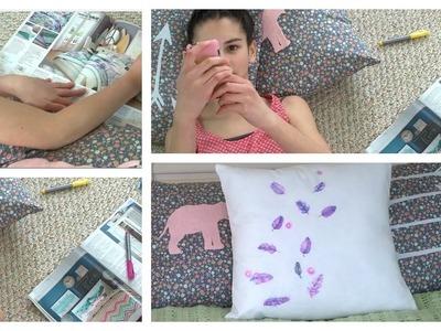 Diy Throw Pillows ~ Colorful and Cute Pillows!