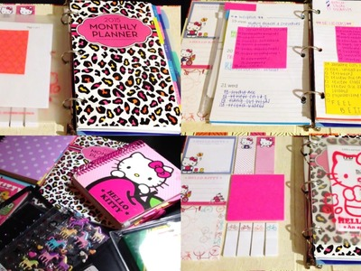 DIY Tumblr Inspired Planner ♡ Cover, Inserts, Stickers & More!