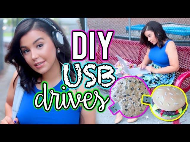 DIY USB Flash Drive! Easy DIY Back To School Supplies!