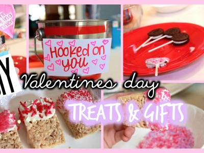DIY Valentine's day treats +gift ideas!