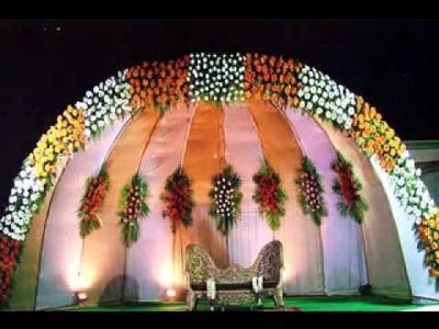 DIY Wedding stage decorating ideas