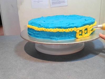 Easy DIY Cake Decor : Batman cake
