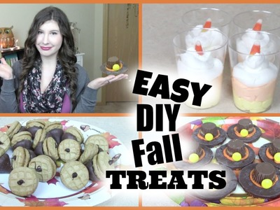 Easy DIY Fall.Thanksgiving Treats