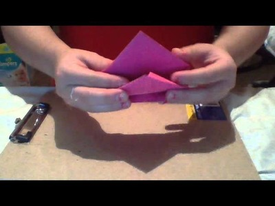 How to make a Construction paper heart