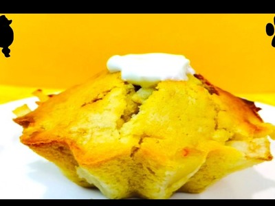 How to make PUPPY PEAR PUDDING - DOG MUG CAKE CUPCAKE - DIY Dog Food by Cooking For Dogs