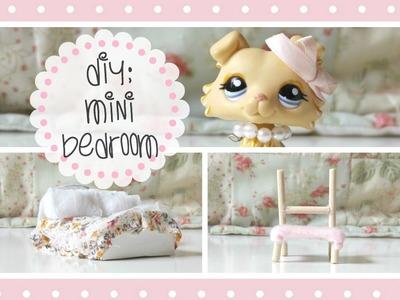 ♡ LPS DIY: Mini Bedroom ♡