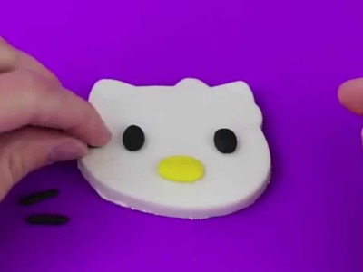 Massinha de Modelar | Play Doh Hello Kitty DIY Sanrio Characters