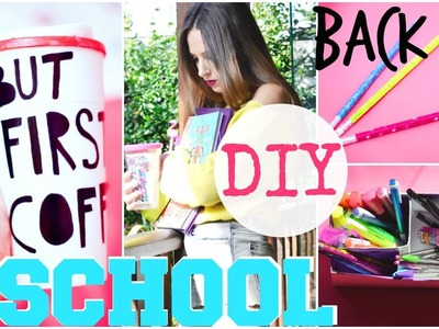 SUPER EASY DIY BACK TO SCHOOL IDEAS
