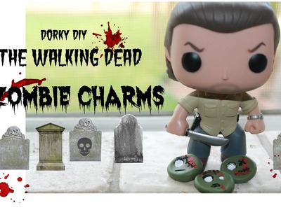 The Walking Dead Zombie Charms -Dorky DIY