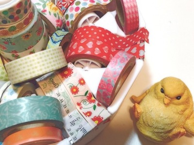 Washi Tape Storage D.I.Y Ideas and Collection