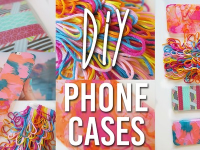 5 Easy DIY iPhone Cases | Budget Friendly and Tumblr inspired