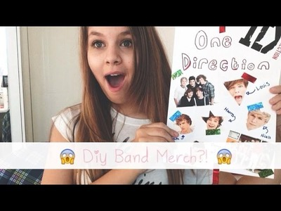 ♡ DIY Band Merch?! | Amy ♡