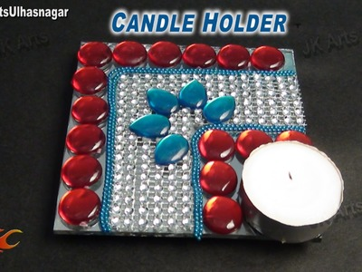 DIY Candle. Votive Holder | How to make | JK Arts 695