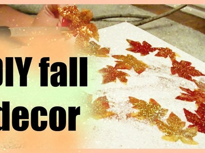 DIY Cheap and Inexpensive Fall Room decor!!