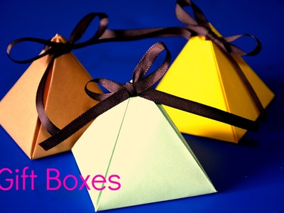 DIY - Cute Gift Boxes