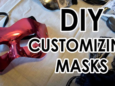 DIY decorating masks tips