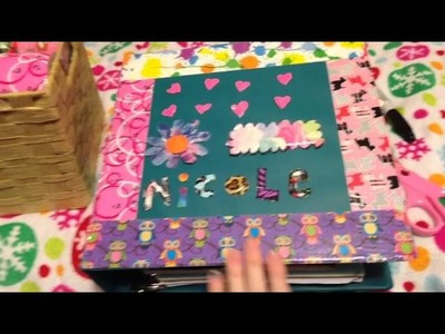 DIY: Decorating your binder.
