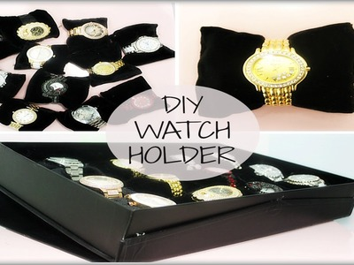 DIY Display watch holder