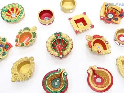 DIY Diwali Diya Decorations- Helpmebuild