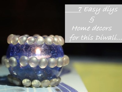 DIY DIWALI ROOM DECOR & GIFTs