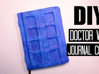 DIY Doctor Who Journal Cover