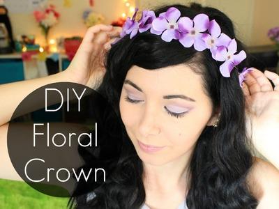 DIY FLORAL CROWN! ❤