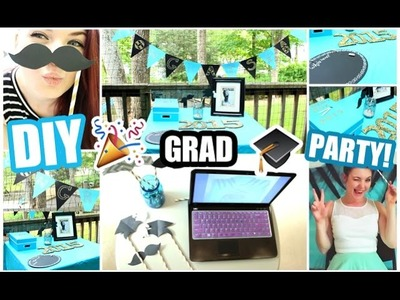 DIY Graduation Party! PHOTOBOOTH, DECOR, + MORE