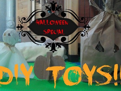 DIY Halloween Rabbit Toys
