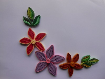 DIY: How to make Quilling flower