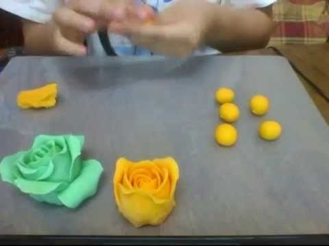 DIY Play Dough Roses by Hand (Realistic, No Tools Required!)