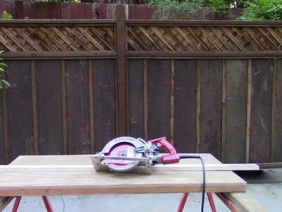 DIY Portable Table Saw using a Skilsaw 77