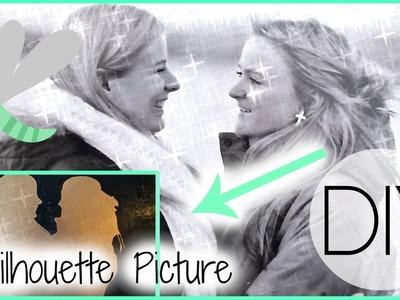 DIY: Silhouette Picture