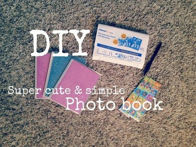 DIY | Super cute & simple photo book