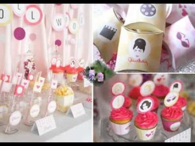 DIY teenage birthday party decorating ideas