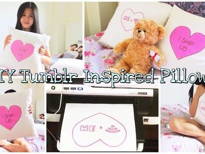 DIY Tumblr Inspired Pillows ♡