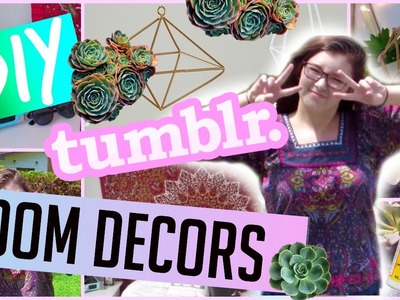 DIY TUMBLR ROOM DECOR | EASY & INEXPENSIVE + GIVEAWAY 2015 ♡