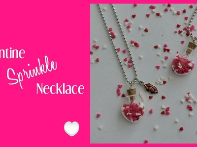 DIY Valentine Necklace | DIY Valentine's Day Gift Idea!