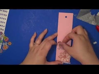 How to make a Bookmark :Easy DIY Recycle Bookmark!!