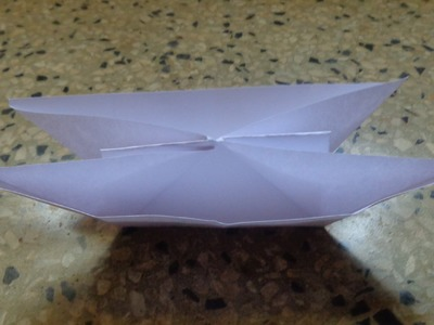 How to Make a Paper Double Boat