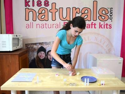 Kiss Naturals DIY Lip Balm Instructional Video