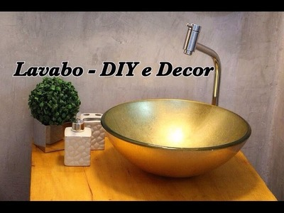 Lavabo Vintage Industrial - DIY e Decor