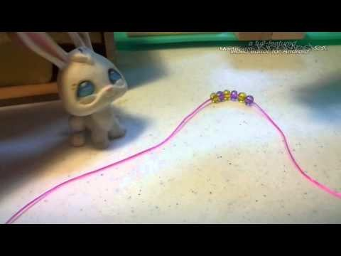 Lps: DIY'S with Crystal #1 Necklace