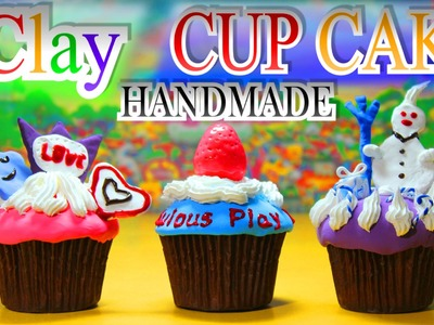 NEW! Play-Doh CUPCAKE i-Clay kit DIY handmade - Kids kitchen Playground Unboxing by FabulousPlayLand