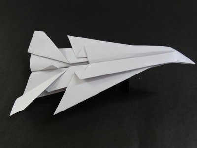 Origami Paper Planes: How to fold a Jet Fighter Plane