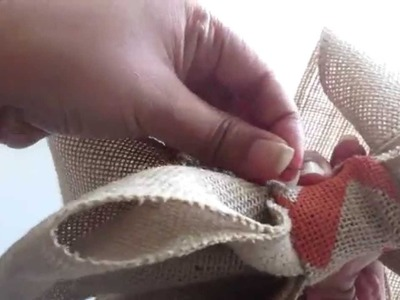 #Pintober - Burlap Bow (Fall DIY) Week2-Day8