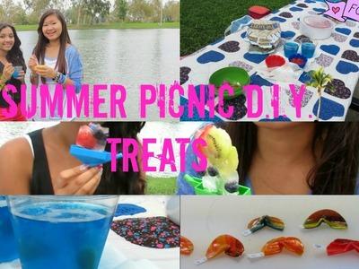 Summer Picnic  D.I.Y Treats ☼