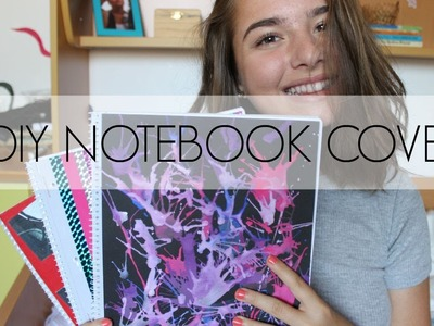 3 DIY NOTEBOOK COVERS. Back to school 2015 | SimplyLara