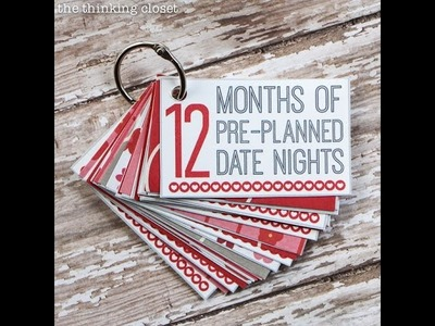 Anniversary DIY Gift Ideas for Him
