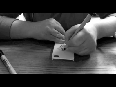ASMR - DIY iPhone Case Designing Part One - and Softly Spoken Rambling