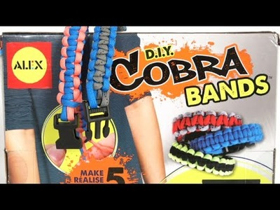 D.I.Y. Cobra Bands from Alex Toys